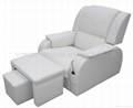 foot massage sofa with PU leather