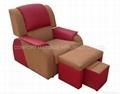 foot massage sofa with PU leather&cloth