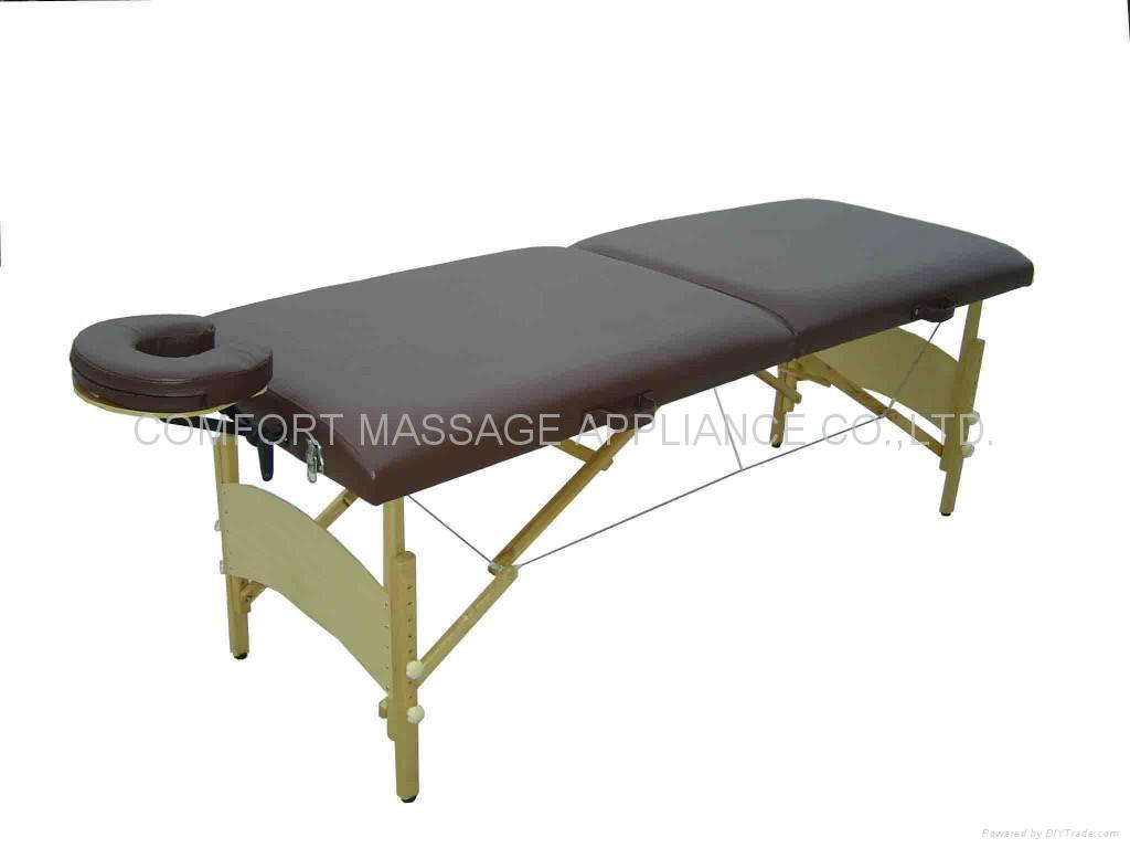MT-006W wooden massage table 1