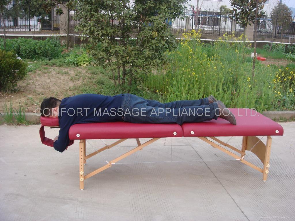 MT-006B便携式按摩床配有调节枕头 6