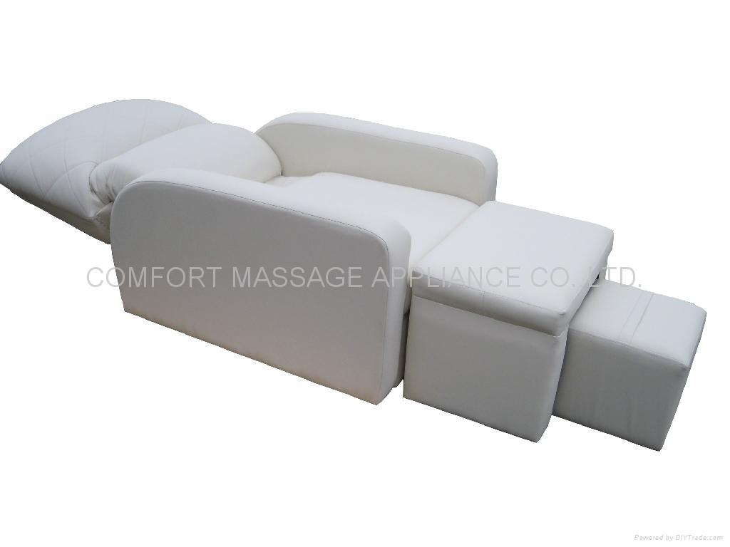 高级豪华皮革足浴沙发 2