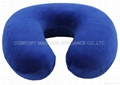U-shape memory foam cushion with cloth