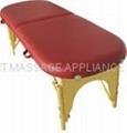OV-001 oval massage table