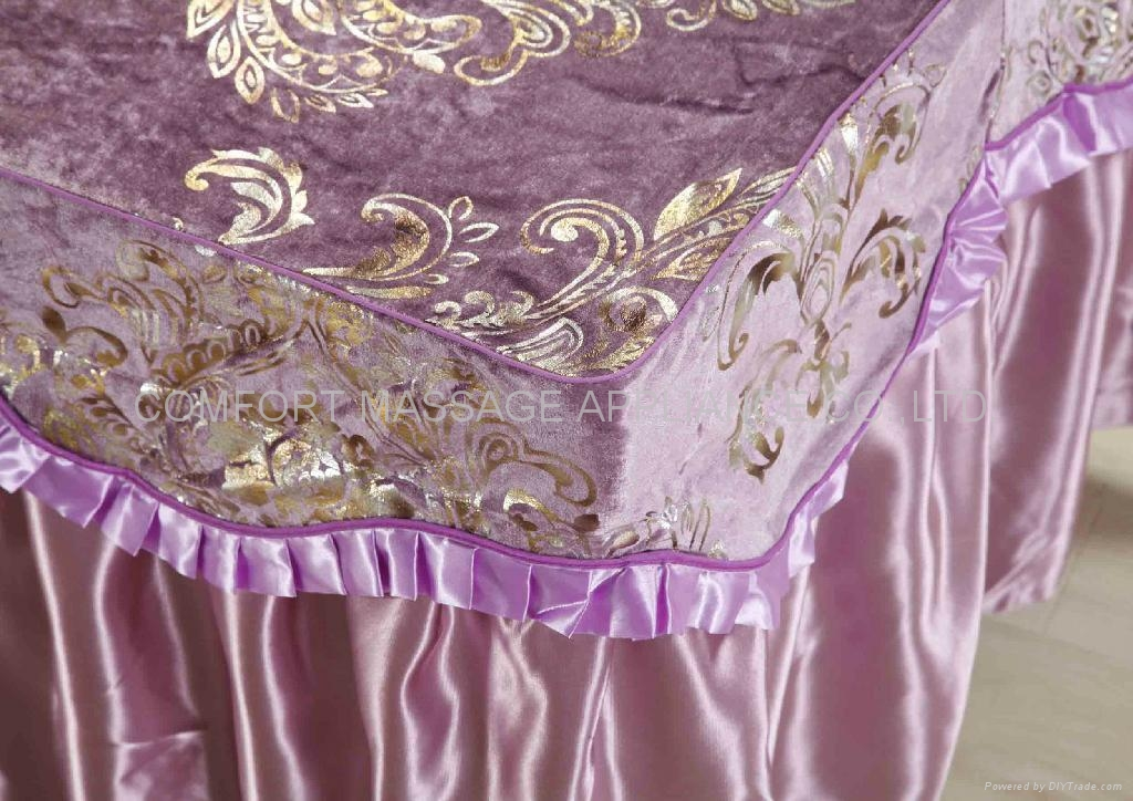 purple No.016 high grade covers for massage table 4
