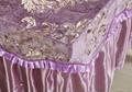 紫色NO.016加厚高檔按摩床、美容床床罩 4