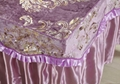 purple No.016 high grade covers for massage table