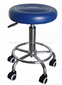 beauty stool with nylon export wheels