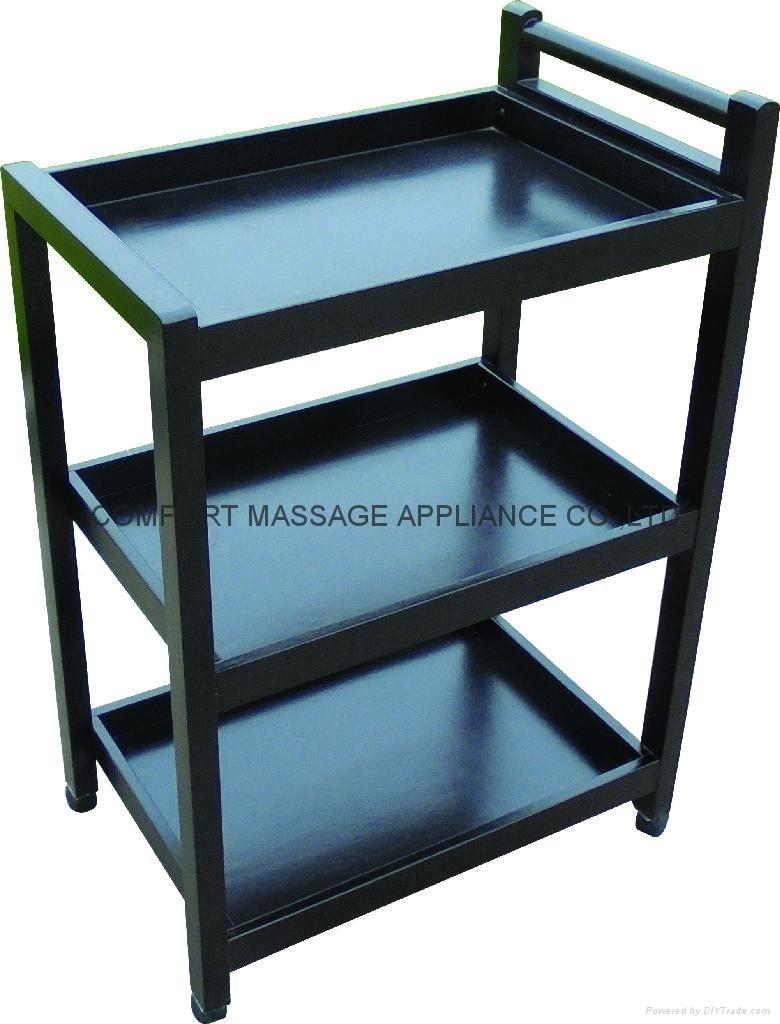 3-shelf beauty tools trolley  1