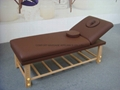 SM-002 wooden stationary massage table  6