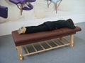 SM-002 wooden stationary massage table  4