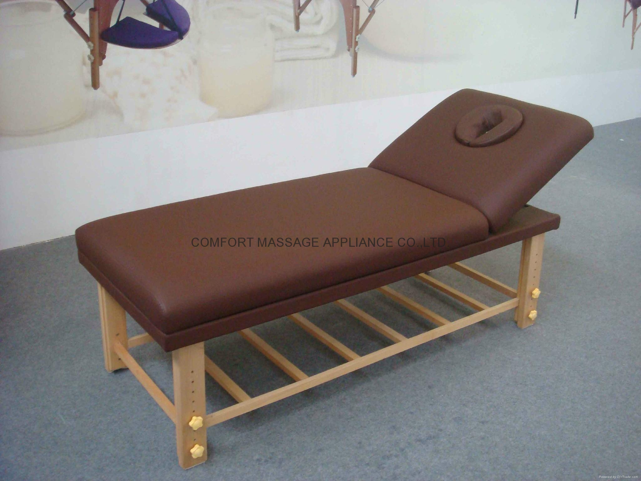 SM-002 wooden stationary massage table  3