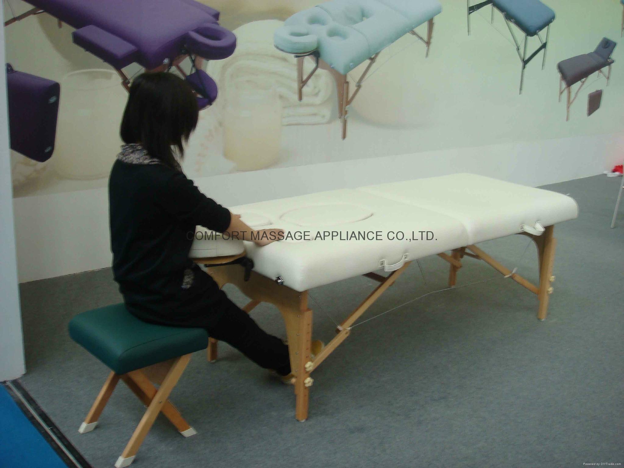 PW-002 孕婦木製折疊按摩床 4