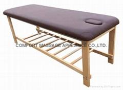SM-006 可拆卸木製固定按摩床