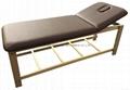 SM-007 disassembled stationary massage table with adjustable backrest 3