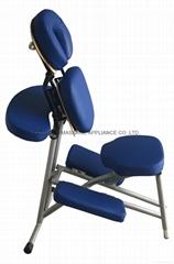 light weight aluminium massage chair AMC-001