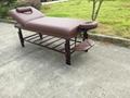 紅棕櫸木SM-002S高級固定按摩床、美容床 4