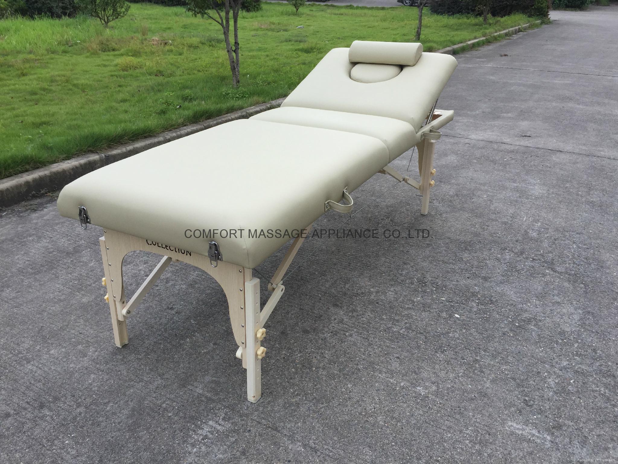 白色櫸木MT-009-2W 木製按摩床暢銷日本 2