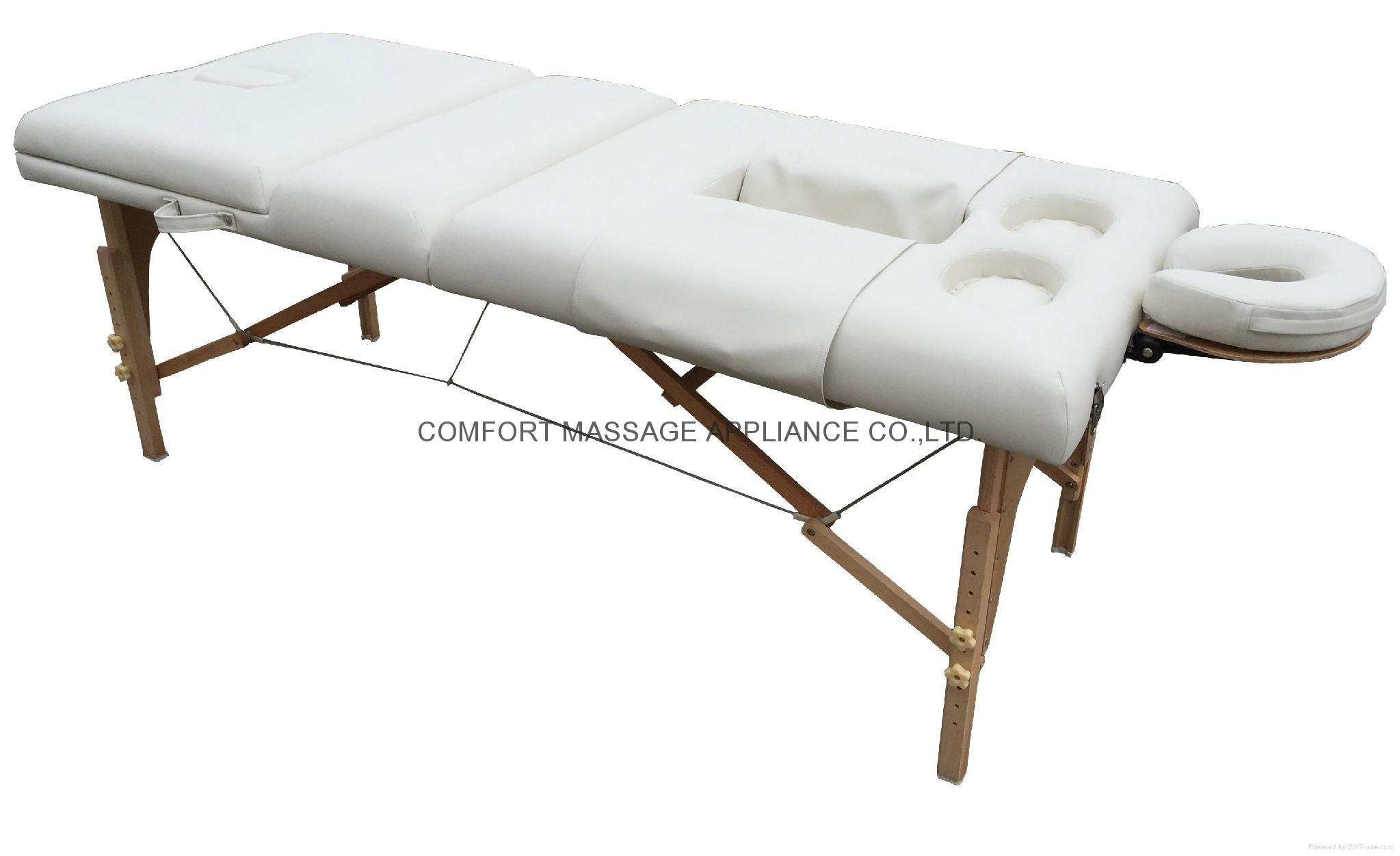 多用途高品質折疊按摩床、美容床 2