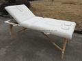 多用途高品質折疊按摩床、美容床 5