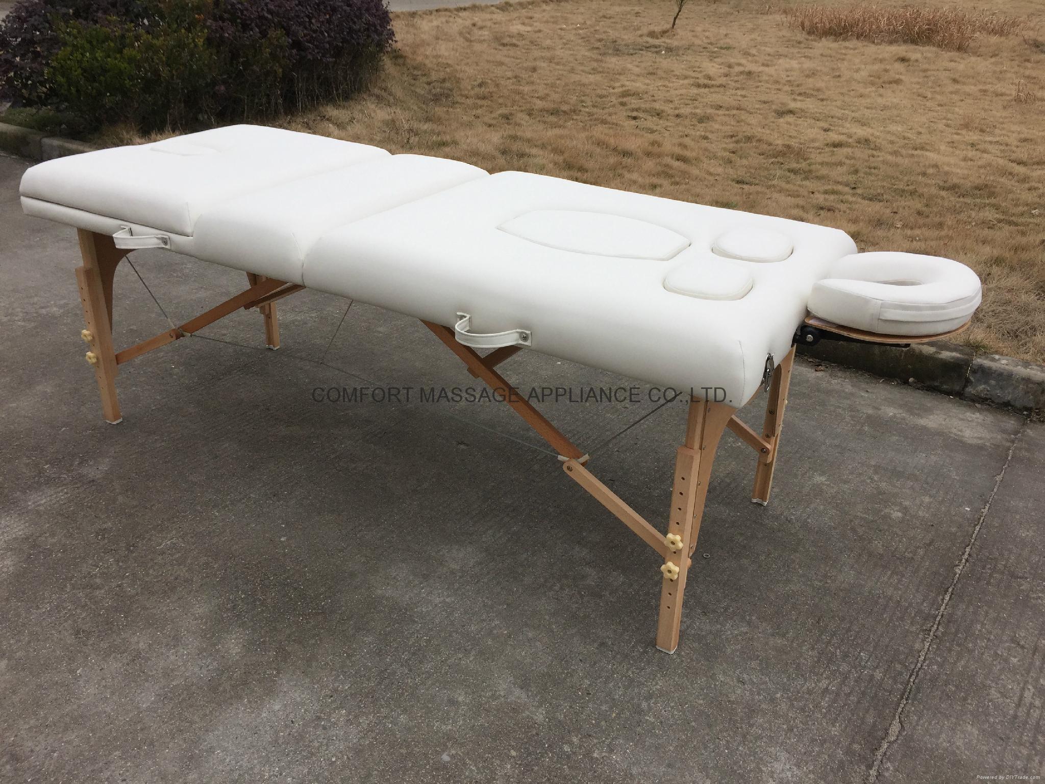 多用途高品質折疊按摩床、美容床 3