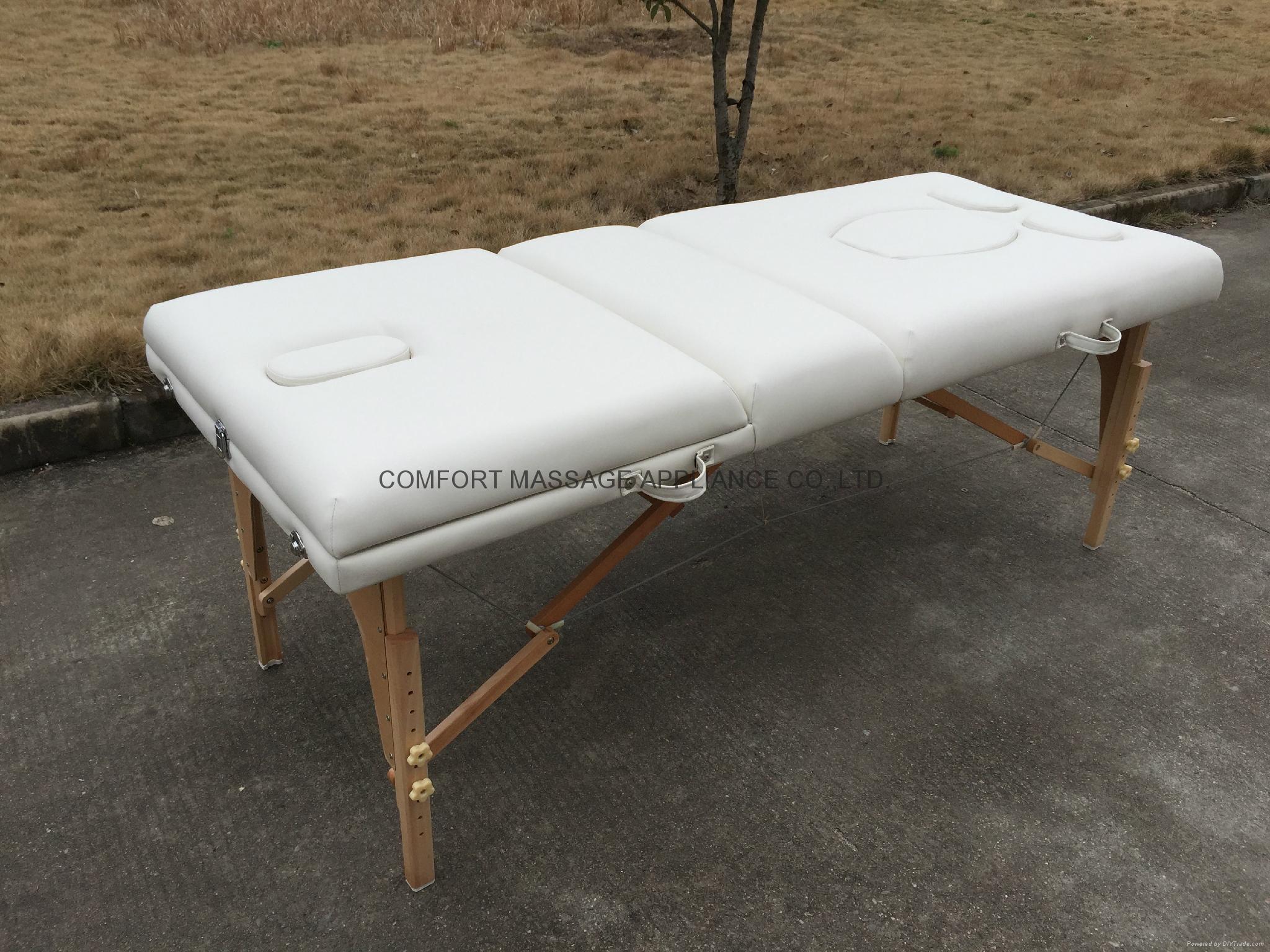 多用途高品質折疊按摩床、美容床 7