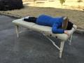 白色櫸木料木製折疊按摩床MT-007W暢銷日本款 3