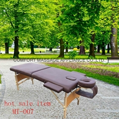 classic portable massage table MT-007 with full accessories