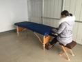 木製折疊按摩床配有調節枕頭和下扶手MT-006B 6