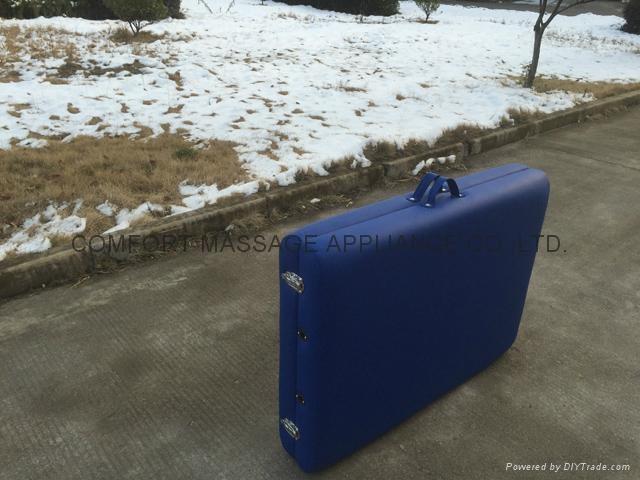木製折疊按摩床配有調節枕頭和下扶手MT-006B 9