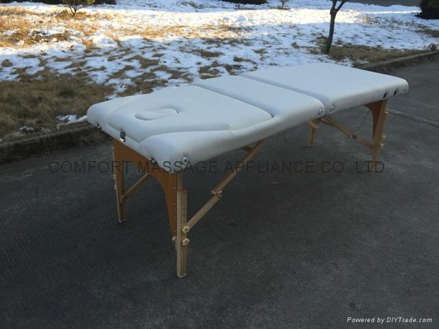portable massage table with adjustable backrest and full accessories  9