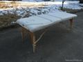 靠背調節配置齊全的木製折疊按摩床MT-009BS 9