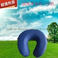 U-shape face cushion for massage or