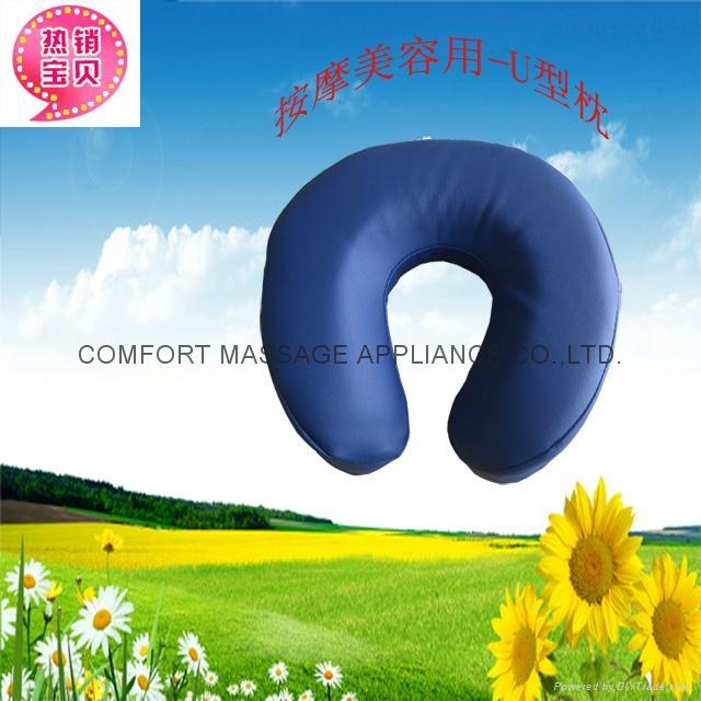 U-shape face cushion for massage or beauty 2