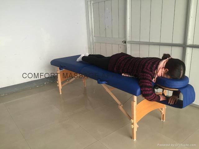 U-shape face cushion for massage or beauty 5