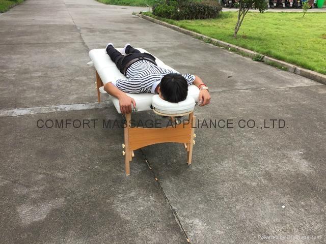 經典木製折疊美容床、按摩床、診斷檢查床MT-006W-2 4