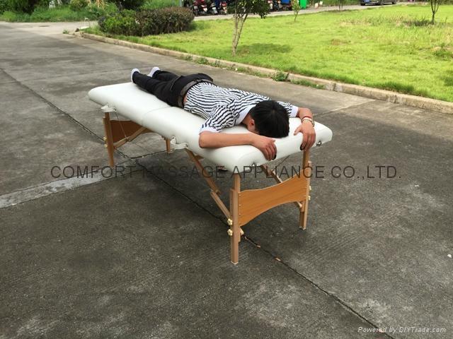 經典木製折疊美容床、按摩床、診斷檢查床MT-006W-2 5