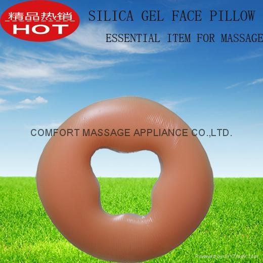 按摩美容床必備產品,硅膠面枕 1