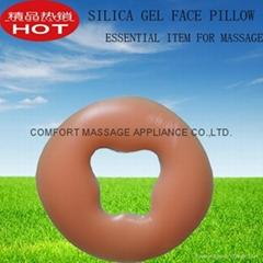 按摩美容床必備產品,硅膠面枕