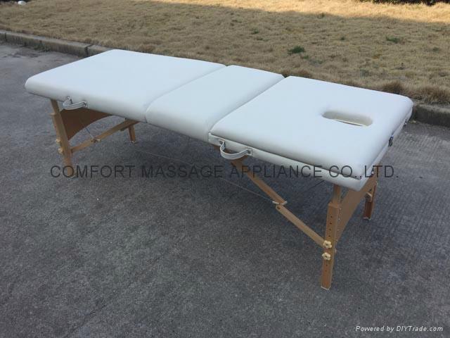歐美熱銷靠背調節按摩美容床MT-009 3