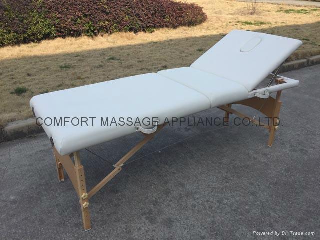 歐美熱銷靠背調節按摩美容床MT-009 2