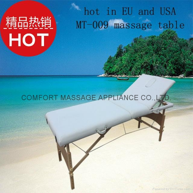 歐美熱銷靠背調節按摩美容床MT-009 1