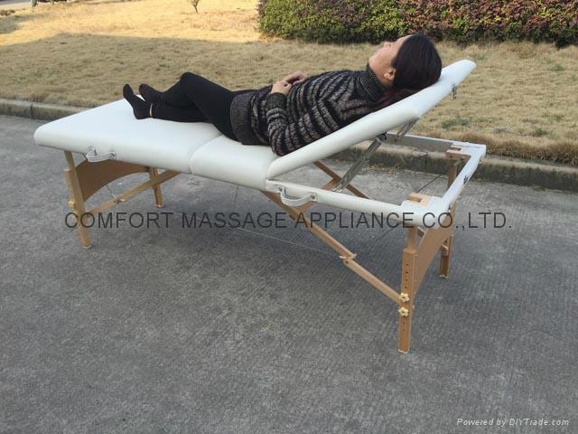 歐美熱銷靠背調節按摩美容床MT-009 4