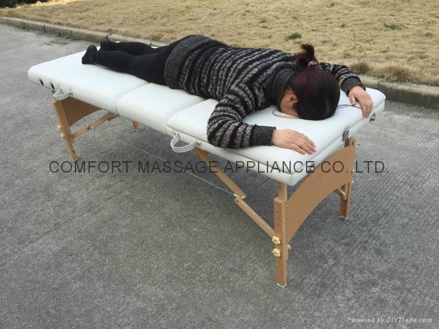 加長加寬靠背調節按摩美容美體床MT-009A 5