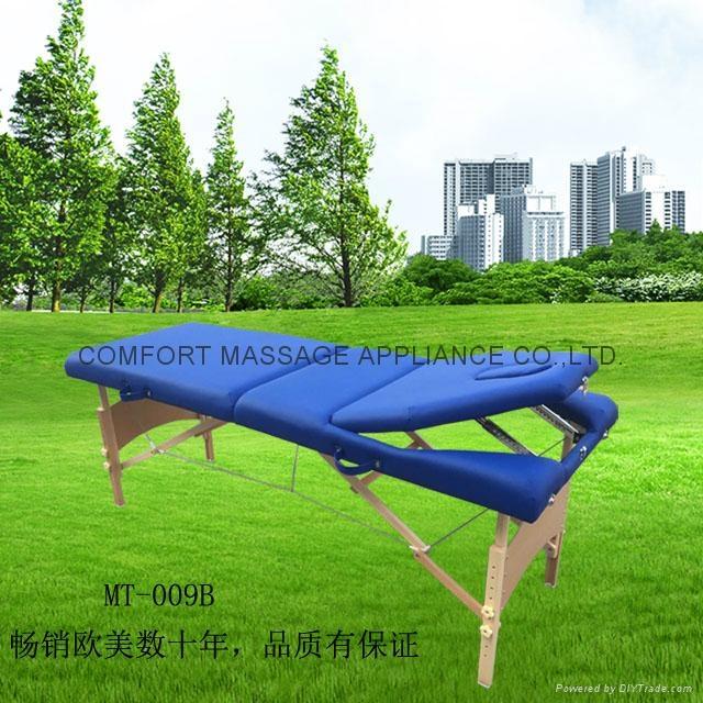 MT-009B木製三折按摩床 1