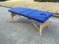 MT-009B木製三折按摩床 3