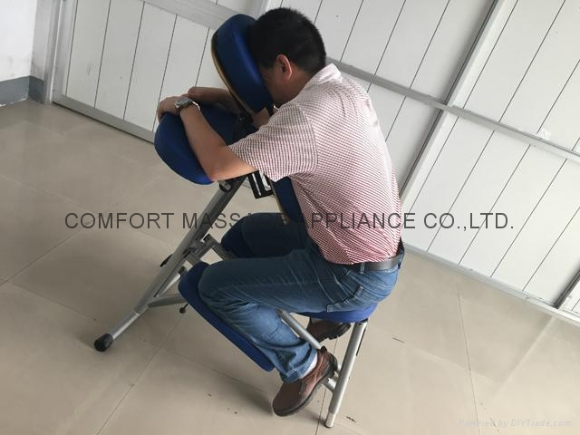 aluminium portable massage chair AMC-001 4