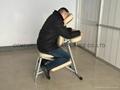 aluminium portable massage chair AMC-001 8