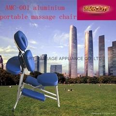 new updated aluminium massage chair AMC-001