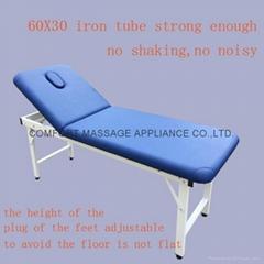 iron stationary massage table beauty bed