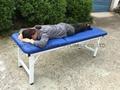 iron stationary massage table beauty bed 2